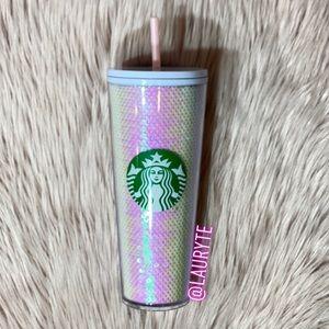 Starbucks 2020 Holiday Pink Sequin Tumbler